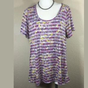 LuLaRoe Knit Tunic Top Size 2X